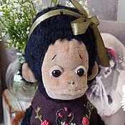 Куклы и игрушки ручной работы. Ярмарка Мастеров - ручная работа Обезьяка Молли. Handmade.