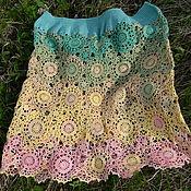 "Одежда handmade. Livemaster - original item Skirt ""Flower Rhapsody"". Handmade."
