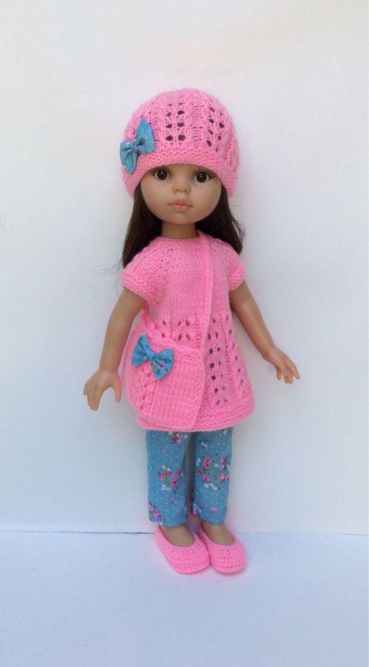 Одежда для кукол ручной работы. Ярмарка Мастеров - ручная работа. Купить Розовый комплект одежды для Паолы. Handmade. Одежда для куклы