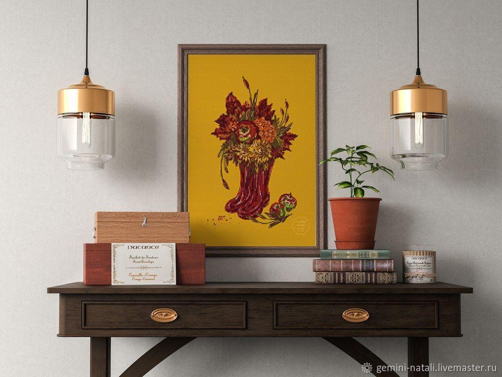 """""""Осень в сапогах"""" цифровой рисунок – купить на Ярмарке Мастеров – MMY22RU   Иллюстрации и рисунки, Краснодар"""