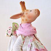 Куклы и игрушки ручной работы. Ярмарка Мастеров - ручная работа Подружка для Евы. Жирафа игрушка текстильная. Handmade.