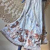 Одежда ручной работы. Ярмарка Мастеров - ручная работа юбка «Вальс – Бостон».. Handmade.