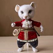 Куклы и игрушки ручной работы. Ярмарка Мастеров - ручная работа Мышь Соня 20 см. Handmade.