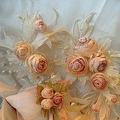 Цветы и флористика ручной работы. Ярмарка Мастеров - ручная работа Розы Свадебный каскад. Handmade.