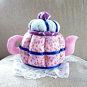 Для дома и интерьера ручной работы. Ярмарка Мастеров - ручная работа Чайник для конфет. Handmade.