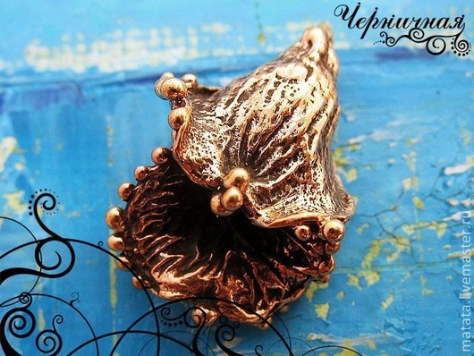 Для украшений ручной работы. Ярмарка Мастеров - ручная работа. Купить Вальс цветов 0830-250 (1). Handmade. Коричневый