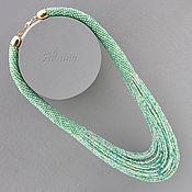 Necklace handmade. Livemaster - original item A refreshing cocktail necklace. Handmade.