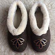 Обувь ручной работы handmade. Livemaster - original item Womens fur chuvaki 39,40. Handmade.