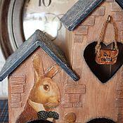 """Для дома и интерьера ручной работы. Ярмарка Мастеров - ручная работа Чайный домик"""" Вниз по кроличьей норе""""продан. Handmade."""