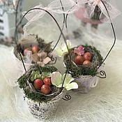Подарки к праздникам ручной работы. Ярмарка Мастеров - ручная работа Пасха`льный декор в стиле Шебби. Handmade.