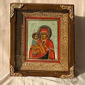 Картины и панно ручной работы. Ярмарка Мастеров - ручная работа Киот резной для иконы.. Handmade.