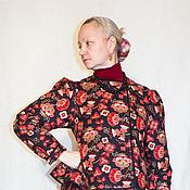 """Русский стиль ручной работы. Ярмарка Мастеров - ручная работа """"Шугай"""" - наплечная уличная одежда. Handmade."""