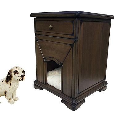 Товары для питомцев ручной работы. Ярмарка Мастеров - ручная работа Будка - домик для собачки. Handmade.