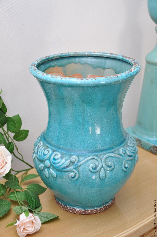 Керамика ваза для декора