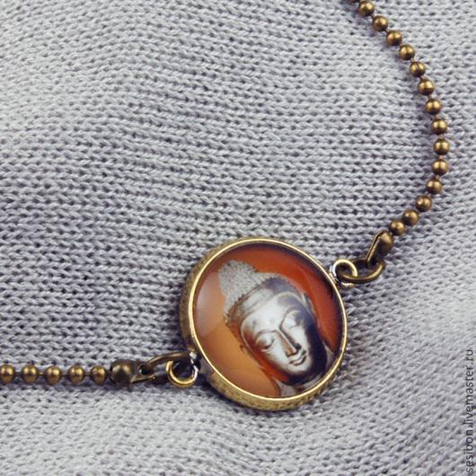 """Браслеты ручной работы. Ярмарка Мастеров - ручная работа. Купить Винтажный браслет """"Будда"""". Handmade. Винтажный браслет, винтажные украшения"""