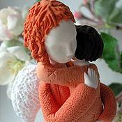 Куклы и игрушки ручной работы. Ярмарка Мастеров - ручная работа Мама ангел в рыжем2. Handmade.