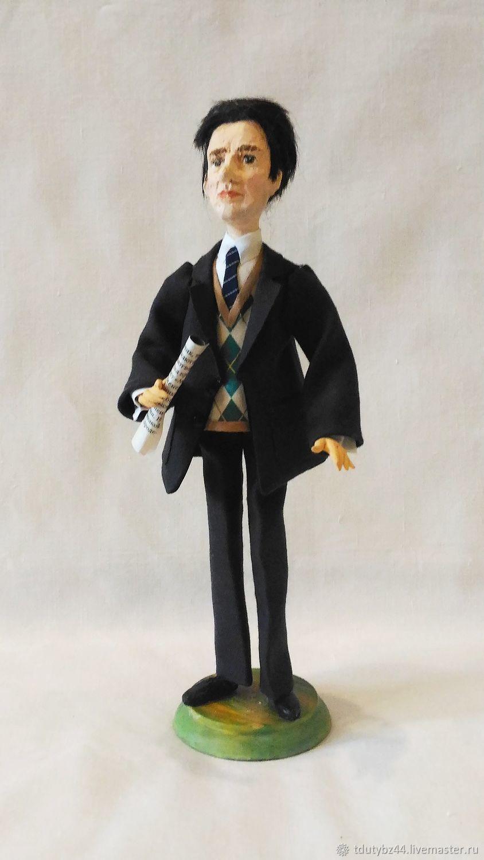 Портретные куклы ручной работы. Ярмарка Мастеров - ручная работа. Купить МАЯКОВСКИЙ авторская кукла подарок на день рождения. Handmade.