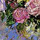 """Картины цветов ручной работы. Заказать """"Чудо Для Тебя"""" - картина маслом (розы в стиле прованс). ЯРКИЕ КАРТИНЫ Наталии Ширяевой. Ярмарка Мастеров."""