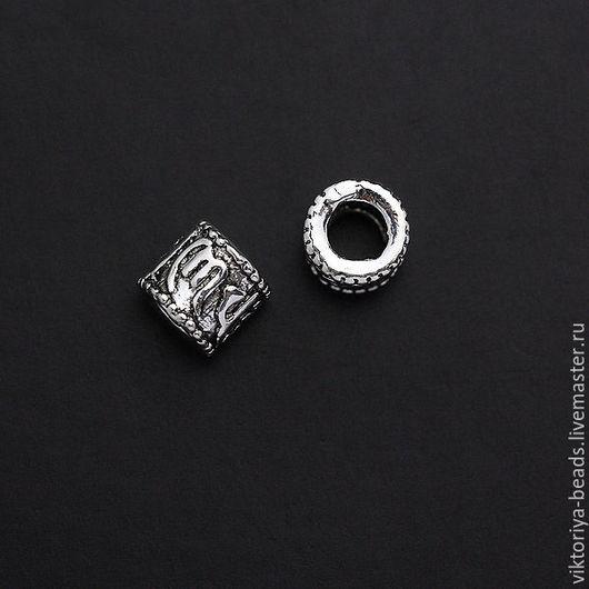 Для украшений ручной работы. Ярмарка Мастеров - ручная работа. Купить Бусина серебро 925 пробы 5 мм. Handmade.