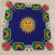 Винтаж handmade. Livemaster - original item ESCADA scarf,100% silk,vintage Germany. Handmade.
