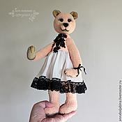 Куклы и игрушки ручной работы. Ярмарка Мастеров - ручная работа Лулу - мишка тедди. Handmade.