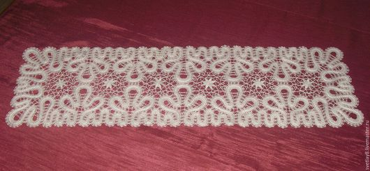 Текстиль, ковры ручной работы. Ярмарка Мастеров - ручная работа. Купить Дорожка 22х73. Handmade. Серый, лён 100%, лён