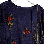 """Одежда ручной работы. Ярмарка Мастеров - ручная работа Джемпер """"Клюква"""". Handmade."""