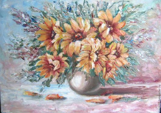 Картины цветов ручной работы. Ярмарка Мастеров - ручная работа. Купить Надежда. Картина маслом. Handmade. Комбинированный, интерьерная картина