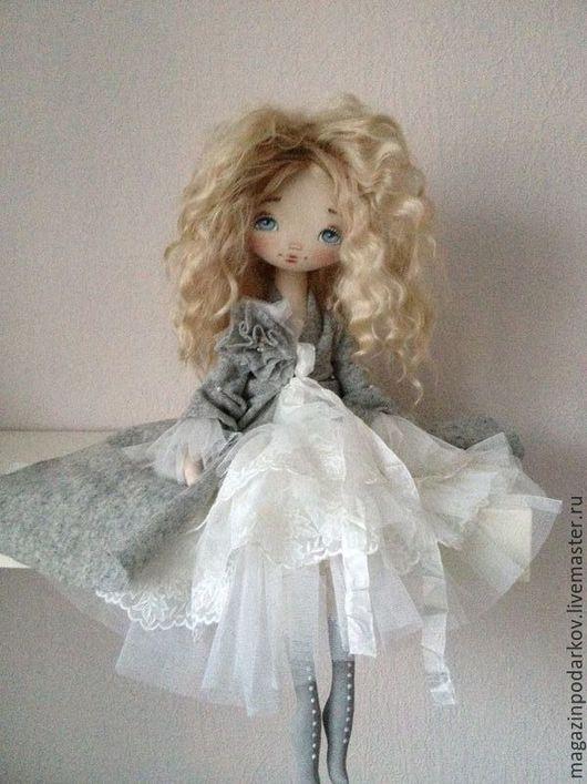 Коллекционные куклы ручной работы. Ярмарка Мастеров - ручная работа. Купить Кукла Джессика. Handmade. Голубой, кукла интерьерная
