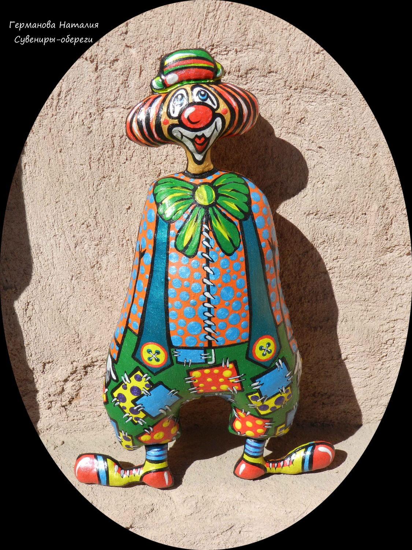 Клоун, Мягкие игрушки, Суздаль,  Фото №1