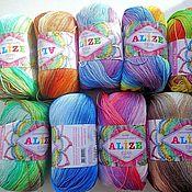 Материалы для творчества ручной работы. Ярмарка Мастеров - ручная работа Alize Miss batik 100% мерсеризованный хлопок, 50 гр 280 м. Handmade.