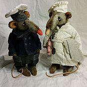 Куклы и игрушки ручной работы. Ярмарка Мастеров - ручная работа Боцман и кок. Handmade.