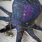 Куклы и игрушки handmade. Livemaster - original item octopus galaxy. Handmade.