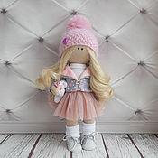Куклы и пупсы ручной работы. Ярмарка Мастеров - ручная работа Кукла текстильная интерьерная ручной работы Жаннет2. Handmade.