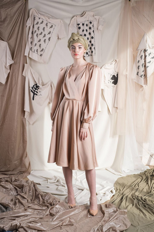Платье В Стиле Нюд