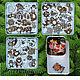 Сказочная печка, набор из 100 детских пряников-козуль, год Быка 2021. Набор пряников. Расписные пряники (Марина&Ксения). Ярмарка Мастеров.  Фото №5