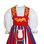 Костюмы ручной работы. Ярмарка Мастеров - ручная работа Финский национальный костюм женский. Handmade.
