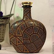 Сувениры и подарки ручной работы. Ярмарка Мастеров - ручная работа Бутылка Перу. Handmade.