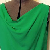 Одежда handmade. Livemaster - original item Top Arina S,M,L,XL / lush green, stretchy viscose /. Handmade.