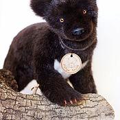 Куклы и игрушки ручной работы. Ярмарка Мастеров - ручная работа Гималайский медвежонок. Handmade.