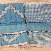 Бортики в кроватку ручной работы. Ярмарка Мастеров - ручная работа Бортики в детскую кроватку -№6 размер 40х60 см. Handmade.