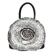 Сумки и аксессуары handmade. Livemaster - original item Bag made of Python ROSE. Handmade.