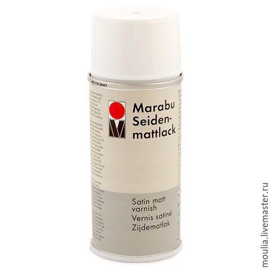 Marabu Лак аэрозольный,шелковисто-матовый на смолах , 150 мл .арт 230406000  150мл  585 руб              2/0
