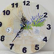 Часы ручной работы. Ярмарка Мастеров - ручная работа Часы настенные Прованс 1. Handmade.