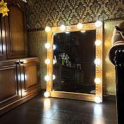 Для дома и интерьера ручной работы. Ярмарка Мастеров - ручная работа Гримерное зеркало OLD TIMBER. Handmade.