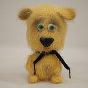 Подарки к праздникам ручной работы. Ярмарка Мастеров - ручная работа Символ 2018 года Желтая собачка. Handmade.