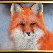 Картины и панно ручной работы. Ярмарка Мастеров - ручная работа «Рыжая плутовка». Handmade.
