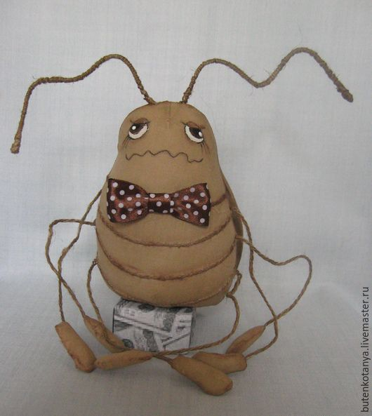 Ароматизированные куклы ручной работы. Ярмарка Мастеров - ручная работа. Купить Таракашка - очаровашка.. Handmade. Бежевый, текстильные игрушки