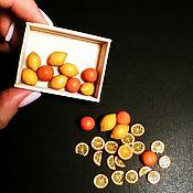Кукольная еда ручной работы. Ярмарка Мастеров - ручная работа Кукольная еда: фрукты. Handmade.