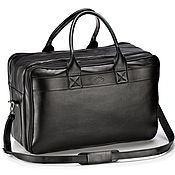 Сумки и аксессуары handmade. Livemaster - original item Leather travel bag with garment bag